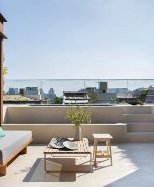 pequeño dúplex BC Architecs RIO