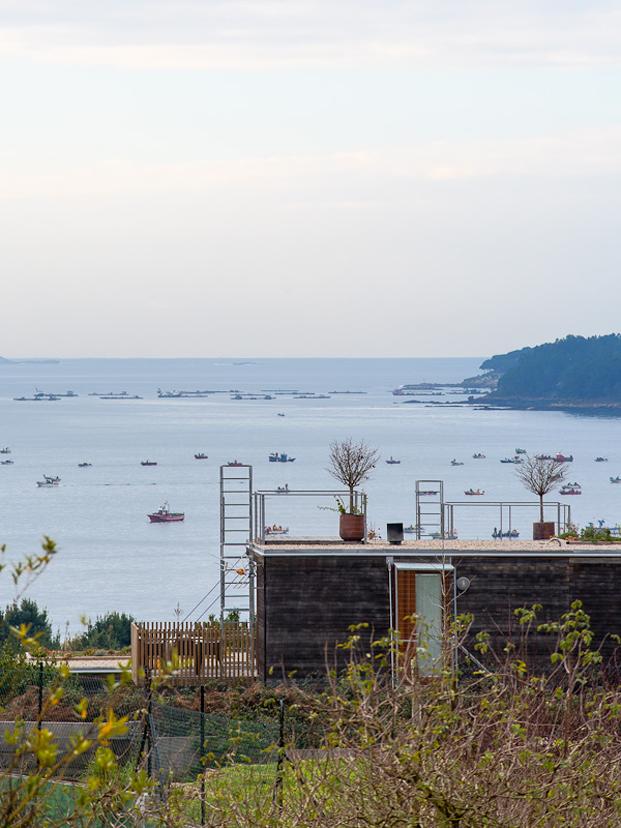 vistas al mar Cabanas de Brona Salgado e Linares arquitectos Premios FAD 2017 diariodesign