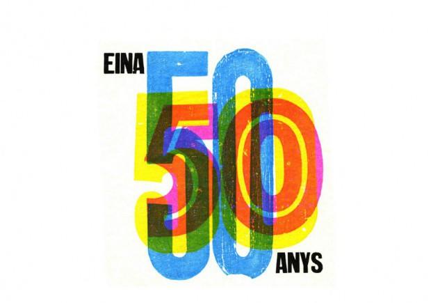 Propuesta de Arcangela Regis grafica para eina cincuenta aniversario