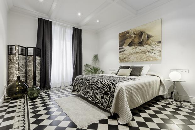 dormitorio del piso de la pelicula Estiu del 1993 David Fernandez