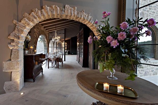 interior de la casa rural Hotel La Vella Farga en el solsones