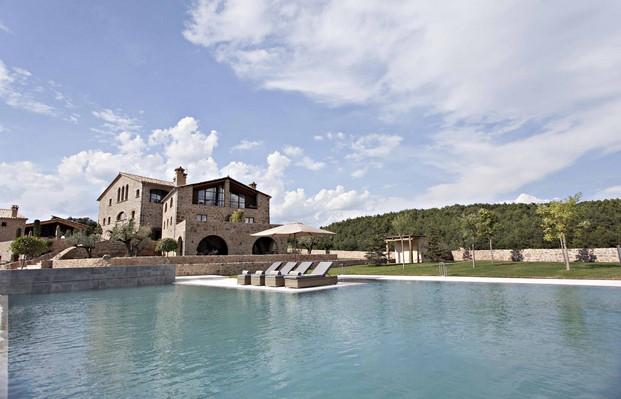 vistas de la casa rural Hotel La Vella Farga