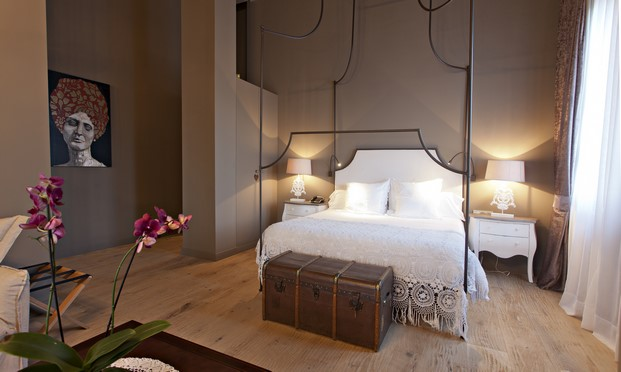 room de la casa rural Hotel La Vella Farga en el solsones