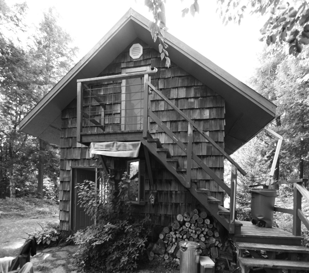 casas en el bosque La Colombiere Quebec diariodesign