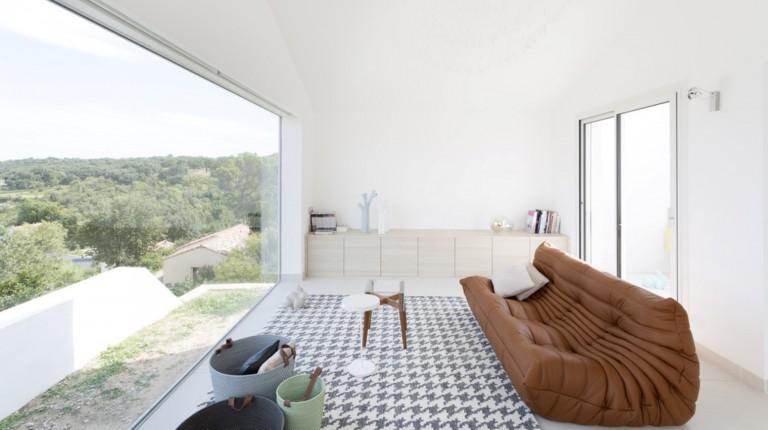 casas minimalistas villa tranquille gignac