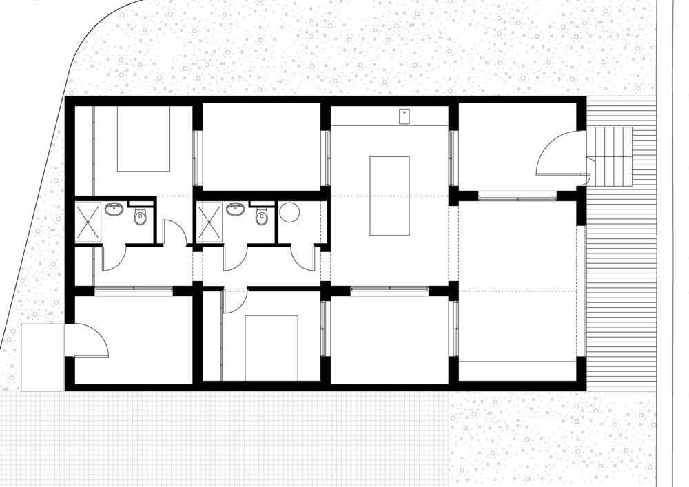 plano de casas mnimalistas proyecto artebalo en francia