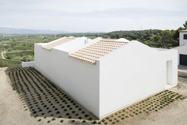 exterior casas minimalistas con vistas en francia
