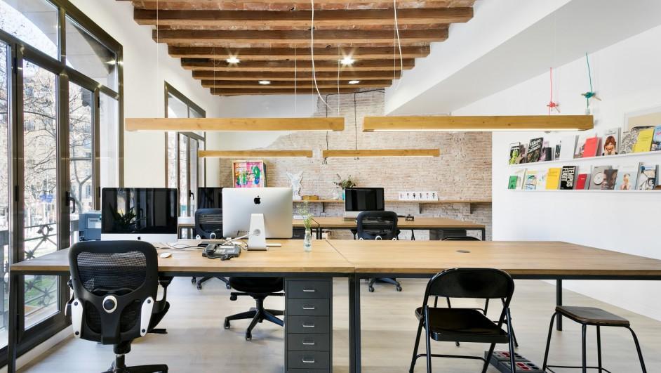 Rehabilitaci n de oficinas de wylma blein for Oficinas bbk en barcelona