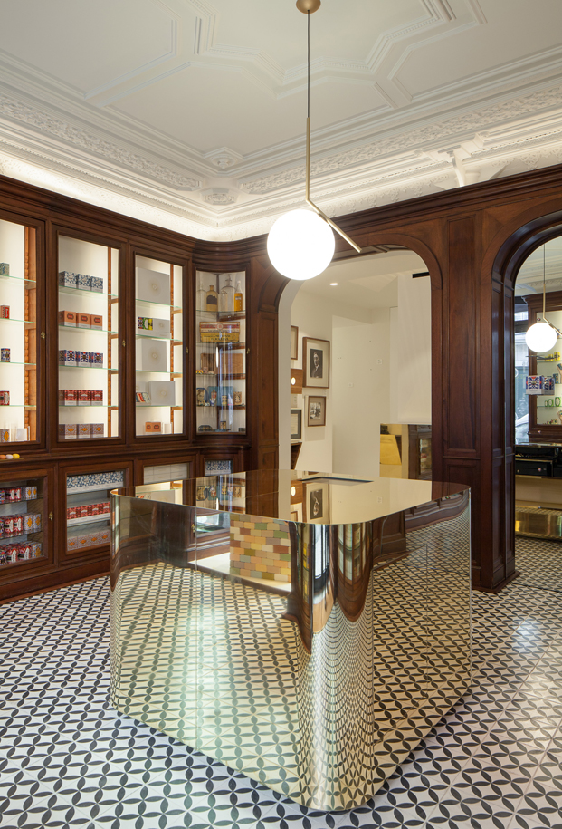 centro de lisboa Loja Claus Porto Joao Mendes Ribeiro diariodesign