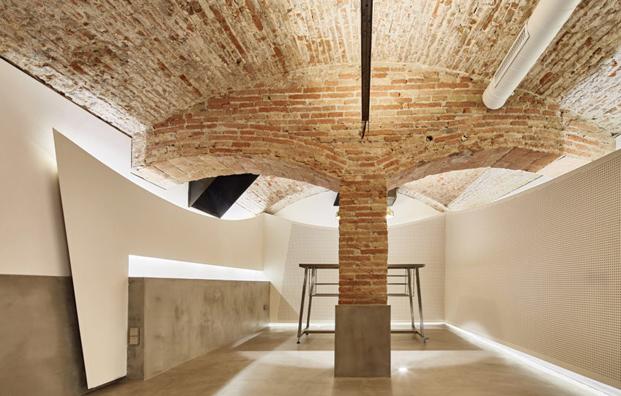 bovedas cafeteria MAG by El Magnifico Tomas Lopez Amat en el born Barcelona diariodesign