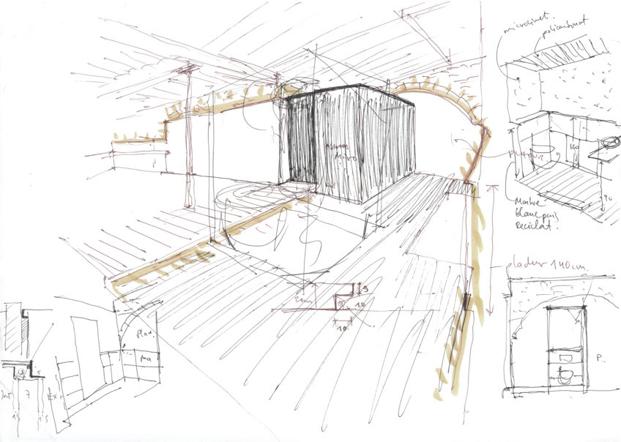planos cafeteria MAG by El Magnifico Tomas Lopez Amat en el born Barcelona diariodesign