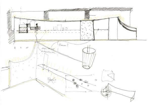 plano cafeteria MAG by El Magnifico Tomas Lopez Amat en el born Barcelona diariodesign