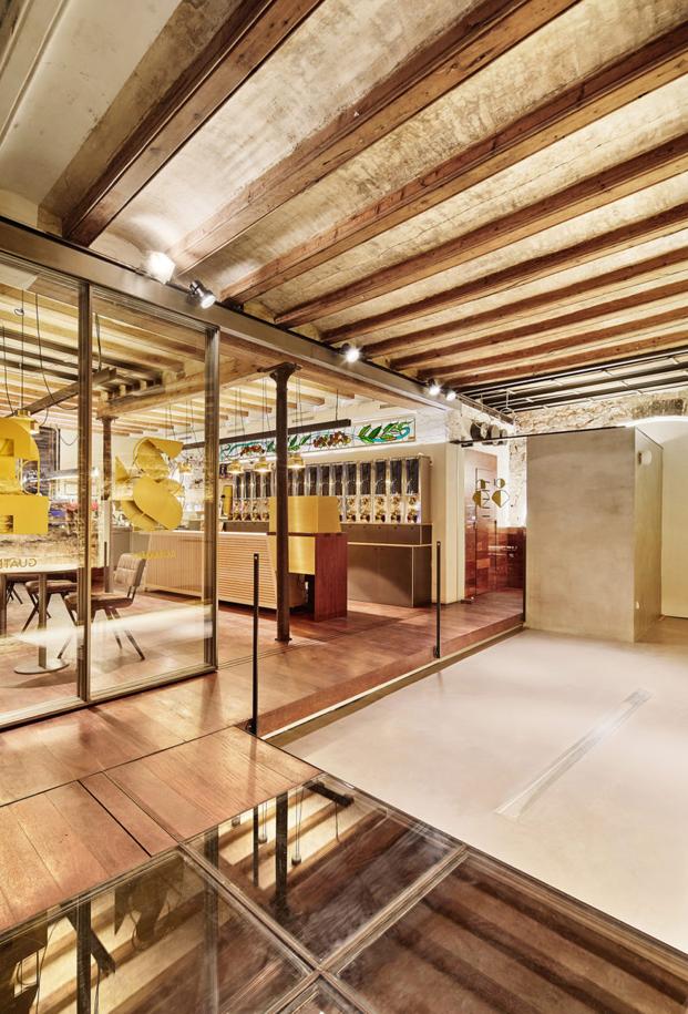 cafeteria MAG by El Magnifico Tomas Lopez Amat en el born Barcelona diariodesign