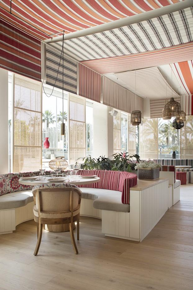 comedor interior restaurante en la barceloneta mana diariodesign