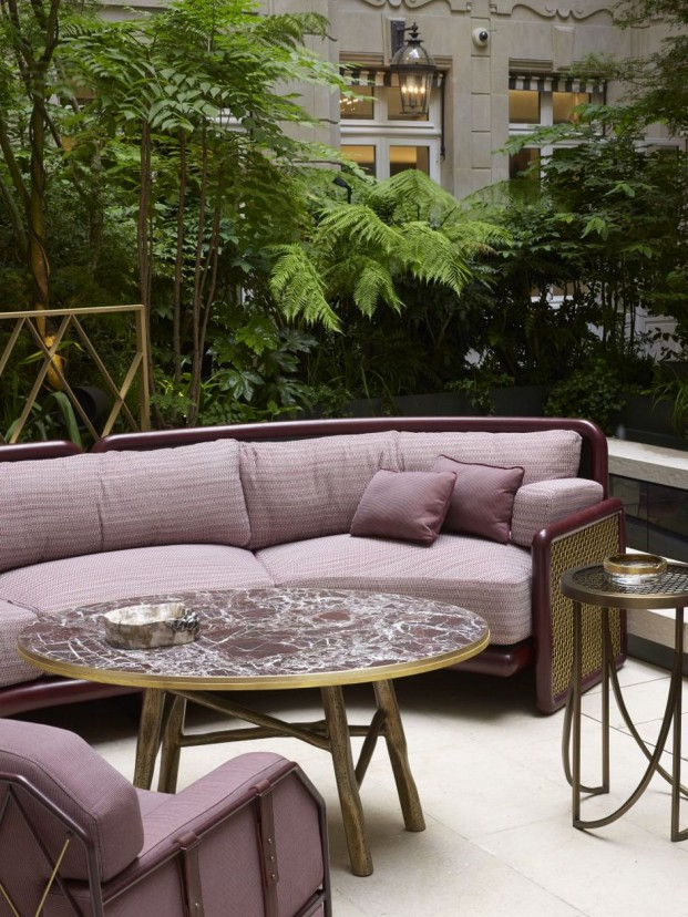 mobiliario Hotel Crillon Tristan auer creador del año de maison objet diariodesign