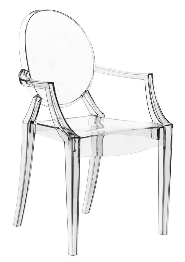 silla louis ghost para kartel en Pompidou Málaga coleccion inedita philippe starck