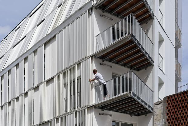 vivienda social Castagnary Dietmar Feichtinger Architectes Paris diariodesign