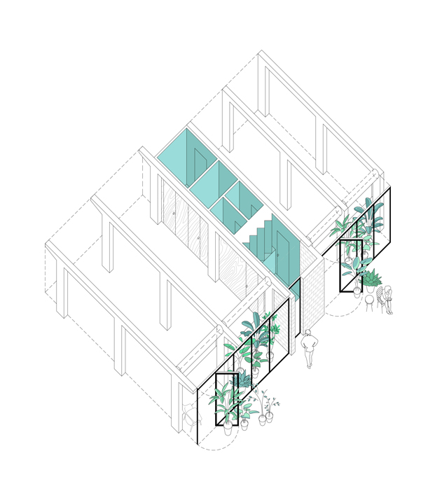 planos de diseno barato TWIN TWIN fad arquitectura Pepe Susin Gonzalo del Val diariodesign