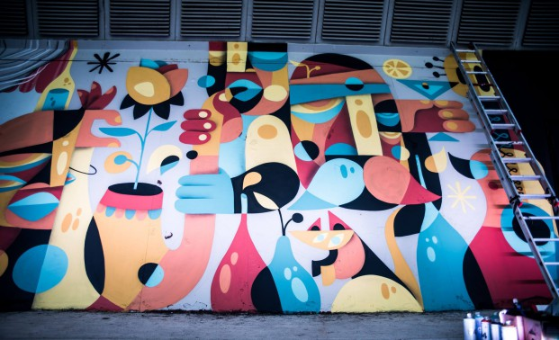 artistas urbanos eb primavera sound barcelona the creative wall diariodesign
