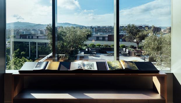 vista desde nuevas oficinas de cuatrecasas abogados en barcelona de GCA architects