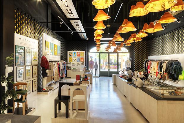 barcelona designers collective 2017 boutique la roca village