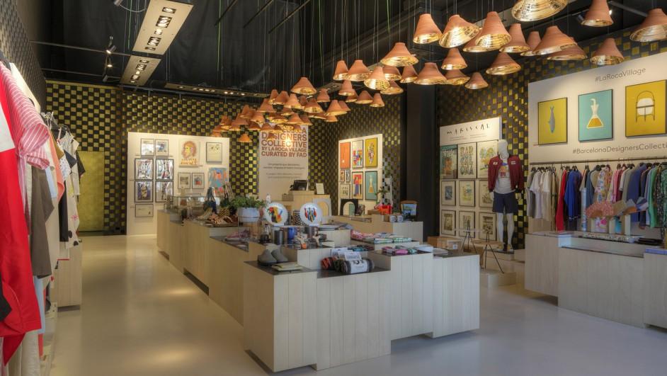 barcelona designers collective 2017 pop up boutique la roca village fad diariodesign