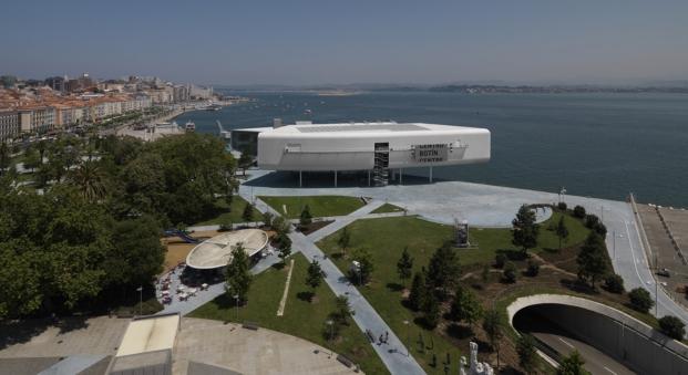 vista aerea de centro botin renzo piano edificio santander diariodesign