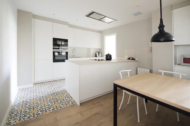 suelos laminados flint floor en un Proyecto residencial