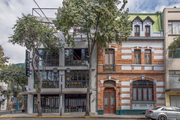 reforma edificio fachada centro comercial en ciudad de mexico milan 44