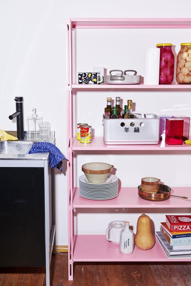 estanteria rosa accesorios nomess cosas de casa diariodesign