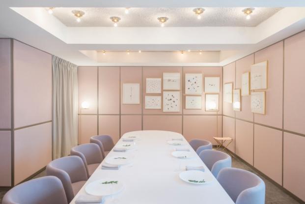 salon restaurante en singapur odette interiorismo Ed Barber y Jay Osgerby diariodesign