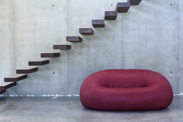 Sofá Goloso en rojo diseños y colchonetas en diariodesign