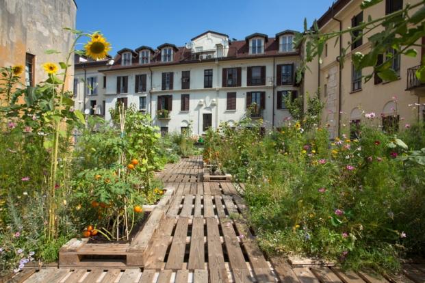 huertos urbanos en milan arquitectura Piuarch diariodesign