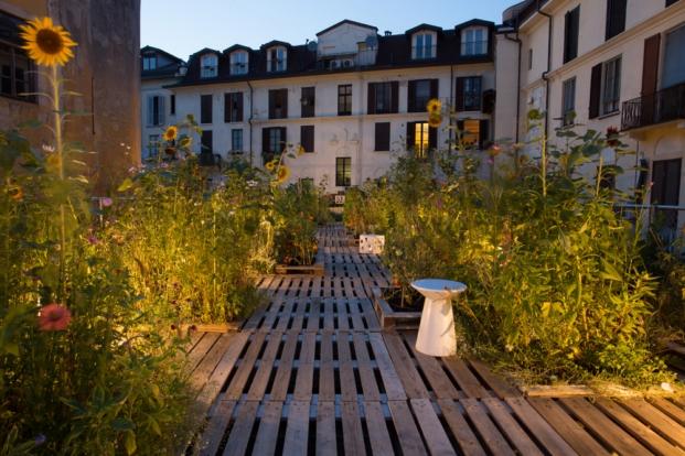 terraza piuarch en brera milán diariodesign