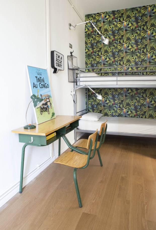 habitacion juvenil de una casa de pueblo en barcelona de barbara Aurell diariodesign