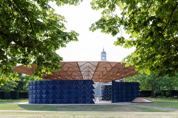 pabellon serpentine gallery londres en verano