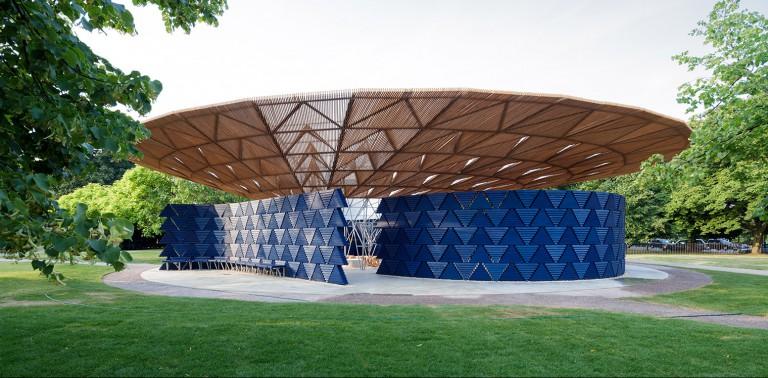 londre en verano serpentine gallery pavilion 2017 francis kere