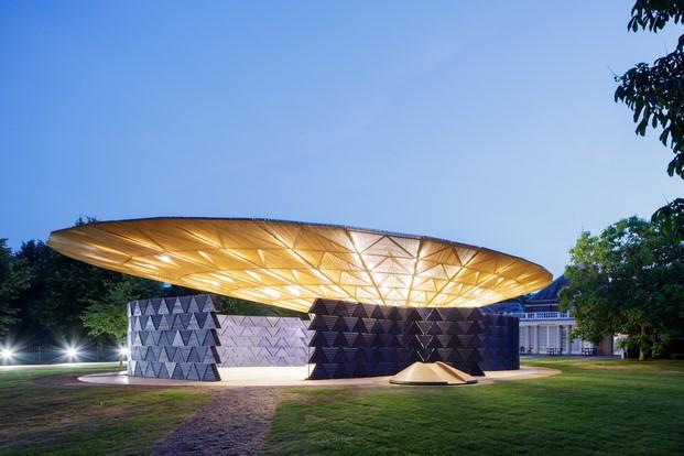 londres en verano serpentine gallery pavilion 2017