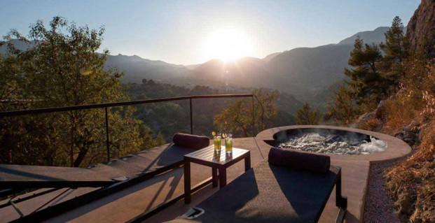 vista desde habitacion hotel vivood paisaje en alicante colchones khama diariodesign