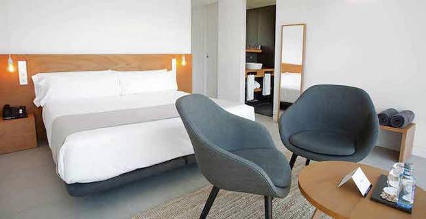 habitacion hotel vivood paisaje en alicante colchones khama diariodesign
