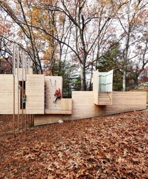 parque infantil Five Fields strucuture de matter design en diariodesign