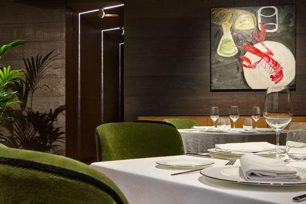 beltz restaurante Gran Hotel Domine Foraster Arquitectos diariodesign