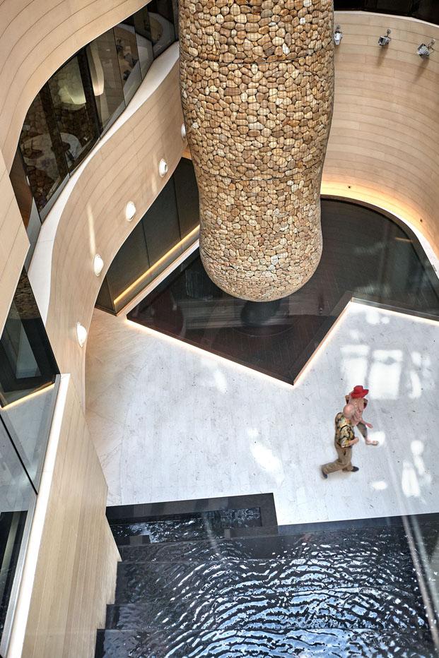 interior Gran Hotel Domine Foraster Arquitectos diariodesign