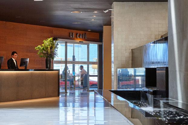 hall Gran Hotel Domine Foraster Arquitectos diariodesign