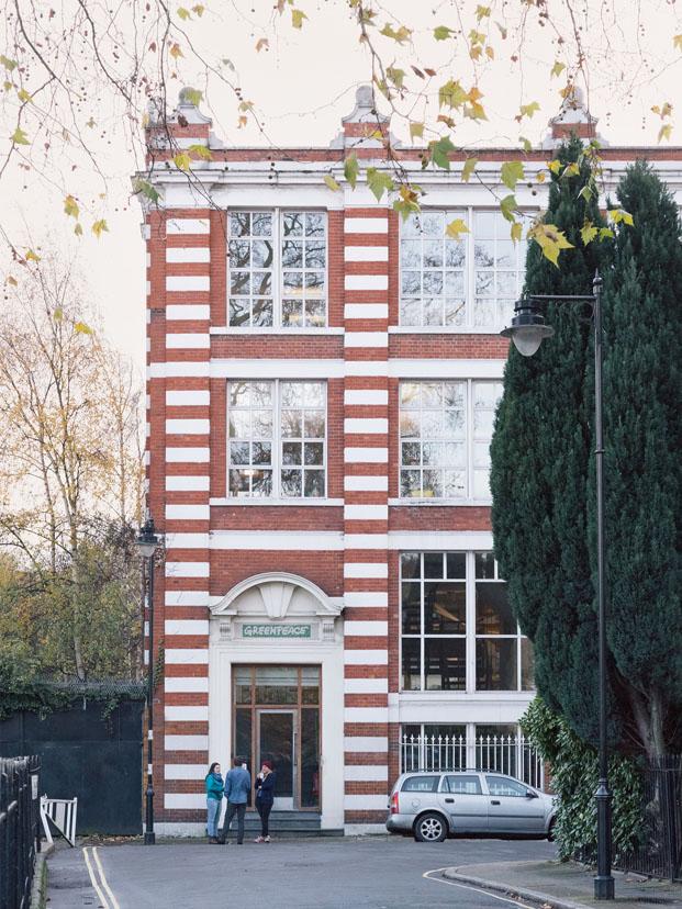 fachada edificio workspace de greenpeace sede Islington Londres Opendesk diariodesign
