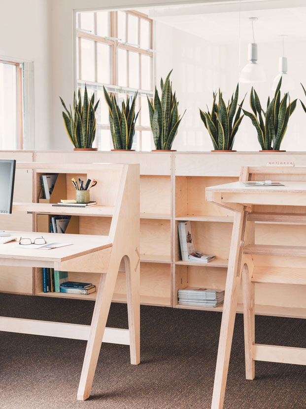 sede greenpeace Islington Londres con muebles de Opendesk workspace diariodesign