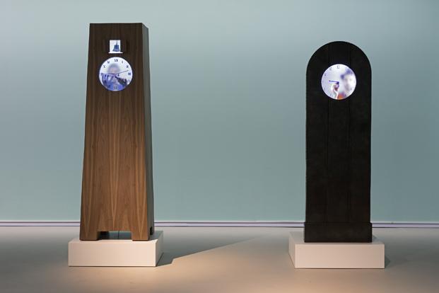 real time en la exposición Hide & Seek Maarten Baas Groninger museum diariodesign