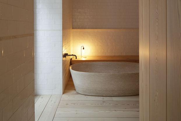 baño hotel santa clara 1728 en lisboa aires mateus diariodesign