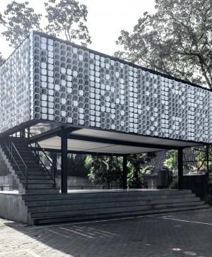 microbiblioteca Microlibrary Bima SHAU Indonesia diariodesign