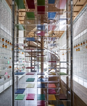 Molecure Pharmacy laboratorio Waterfrom Design diariodesign